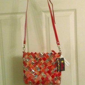 Pink Berry Shopgirl Candy Wrapper Handbag